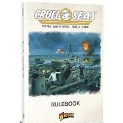Cruel Seas Rulebook 1:300 WWII Naval Military Battle Tabletop Game
