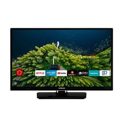 """Hitachi H24E2000 61cm 24"""" Smart TV PVR Noir"""