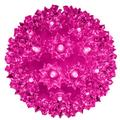 """The Holiday Aisle® LED Sphere 50 Light Electric Lanterns in Pink, Size 6""""H X 6""""W X 6""""D 