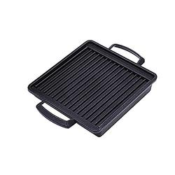 Japanese Style BBQ Grill, Japanese Barbecue Grill Portable Barbecue Stove Japanese Food Charcoal Stove/BBQ Plate Household Barbecue Tools Accessories (BBQ Plate (19.5X18cm))