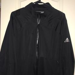 Adidas Jackets & Coats | Adidas Womens Xl Rainwaterproof Wind Jacket | Color: Black | Size: Xl