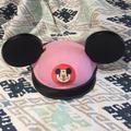 Disney Other | Euc Vintage Disney Mickey Mouse Ears Pink | Color: Black/Pink | Size: One Size