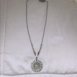 American Eagle Outfitters Accessories   Necklace   Color: Pink/Silver   Size: Os