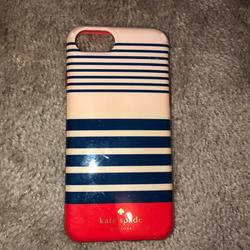 Kate Spade Accessories   Iphone 6, 6s, 7 & 8 Phone Case   Color: Blue/Pink   Size: Iphone 6, 6s, 7 &8