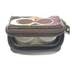 Coach Other | Coach Contact Lens Travel Case - New No Tags | Color: black | Size: Os