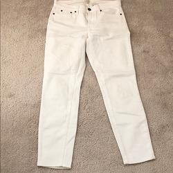 J. Crew Jeans   Jcrew Stretch White Denim Jeans   Color: White   Size: 28