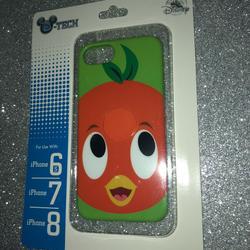 Disney Other | New Disney Parks Orange Bird Iphone Case | Color: Orange | Size: Os