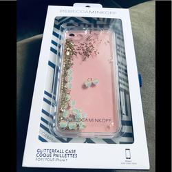 Rebecca Minkoff Accessories | Rebecca Minkoff Waterfall Iphone 7 Casenew | Color: Gold | Size: Iphone 7