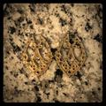 Jessica Simpson Jewelry | Beautiful Jessica Simpson Gold Earrings | Color: Gold | Size: Os