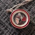 Disney Accessories   Disney Necklace   Color: Red/Silver   Size: Os