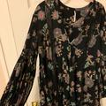 Free People Tops   Free People Flowy Floral Long Sleeve!   Color: Black   Size: S