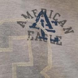 American Eagle Outfitters Other | Light Grey American Eagle Sweatshirt | Color: Gray | Size: Xl