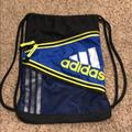 Adidas Bags | Nwot Adidas String Bag | Color: Black/Blue | Size: Os