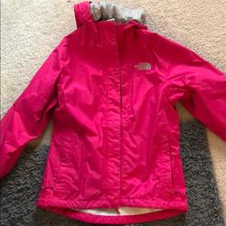 The North Face Jackets & Coats | North Face Raincoat | Color: Pink | Size: Xs