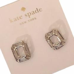 Kate Spade Jewelry   Kate Spade Ny Freeze Framed Earrings   Color: Silver   Size: Os