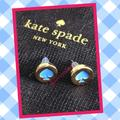 Kate Spade Jewelry | Kate Spade Earrings | Color: Blue/Gold | Size: Os