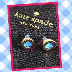 Kate Spade Jewelry   Kate Spade Earrings   Color: Blue/Gold   Size: Os
