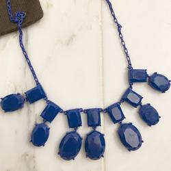 Kate Spade Jewelry   Electric Blue Kate Spade Chandelier Necklace   Color: Blue   Size: Os