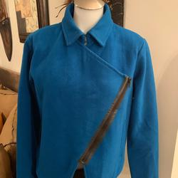 Kate Spade Jackets & Coats   Kate Spade Saturday Woolf Blend Moto Jacket M   Color: Blue   Size: M