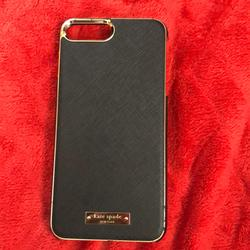 Kate Spade Other | Kate Spade Iphone 8 Plus Phone Case | Color: Black | Size: Os