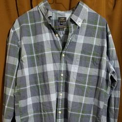 J. Crew Shirts   J Crew Mens Large Button Up Shirt Jcrew   Color: Blue/Green   Size: L