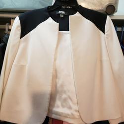 Nine West Jackets & Coats | Make Offer Absolutely Beautiful Nine West Jacket | Color: Black/Cream | Size: 10