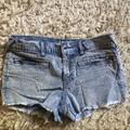 Free People Shorts | Free People Light Blue Corduroy Shorts | Color: Blue | Size: 25