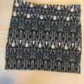 American Eagle Outfitters Skirts | American Eagle Patterned Mini Skirt - Size L | Color: Blue/Gray | Size: L
