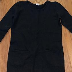 J. Crew Sweaters | 100% Wool J. Crew Sweater | Color: Black | Size: Xxs