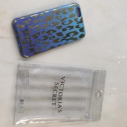 Victoria's Secret Other | Iphone Case | Color: Blue/Gold | Size: Os