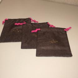 Kate Spade Accessories   Nwot 3- Kate Spade Accessory Bags   Color: Brown/Pink   Size: 4 38l X 6h