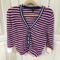 J. Crew Sweaters | J. Crew Pink & Blue Striped Sweater Med | Color: Blue/Pink | Size: M