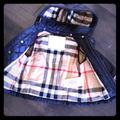 Burberry Jackets & Coats | Burberry Quilted Coat | Color: Blue | Size: 9mb