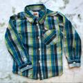 Levi's Shirts & Tops | 3$20 Levis Blue & Green Plaid Button Down Shirt | Color: Blue/Green | Size: 24mb