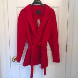 J. Crew Jackets & Coats | J Crew Red Coat | Color: Red | Size: M
