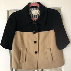 Kate Spade Jackets & Coats | Kate Spade Jacket Size 8 - Never Worn! | Color: Black/Tan | Size: 8