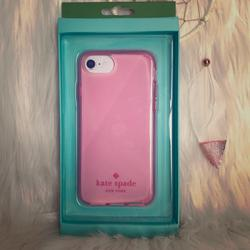 Kate Spade Accessories   Kate Spade Flexible Iphone 876s6 Case   Color: Pink   Size: Iphone 8, 7, 6s, 6