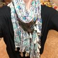 American Eagle Outfitters Accessories   American Eagle Outfitters Multi-Color Scarf   Color: Blue/Purple   Size: Os
