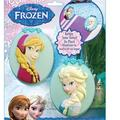 Disney Other | Disney Frozen Anna And Elsa Beach Towel Clips | Color: Blue/Pink | Size: Os