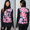 Lululemon Athletica Jackets & Coats | Lululemon Jacket | Color: Black/Pink | Size: 10