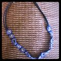 American Eagle Outfitters Jewelry | American Eagle New W Tags Blue & Jeweled Choker | Color: Black/Blue | Size: Os