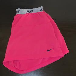 Nike Shorts   Girls Pink Size Xl Nike Shorts   Color: Gray/Pink   Size: Girls Xl