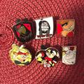 Disney Other | Disney Assorted Evil Pins | Color: Brown | Size: Os