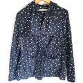 Anthropologie Jackets & Coats | Daughters Of The Libertation Polka Dots Jackets 0 | Color: White | Size: 0
