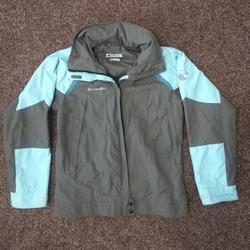 Columbia Jackets & Coats | Columbia Winter Jacket Hard Shell | Color: Blue/Gray | Size: 14-16