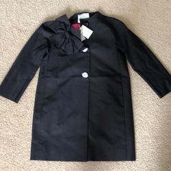 Kate Spade Jackets & Coats | Nwt Kate Spade Kendall Coat | Color: Black/Pink | Size: Xs