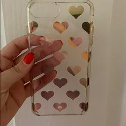 Kate Spade Other   Kate Spade Heart Phone Case   Color: black   Size: Iphone 7 Plus