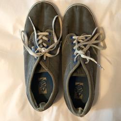 Vans Shoes   Gray Vans   Color: Blue/Gray   Size: 7