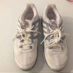 Adidas Shoes | Adidas Sport Shoes | Color: Gray/White | Size: 8