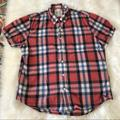 American Eagle Outfitters Shirts   Final Sale 3$10 American Eagle Plaid Shirt L   Color: Blue/Red   Size: L